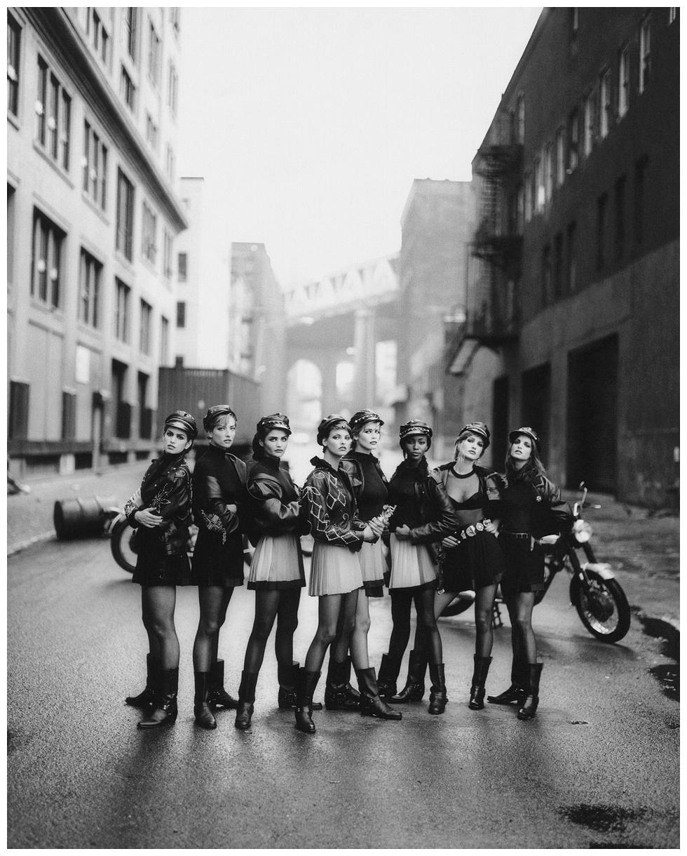 """Flashback: """"Wild at heart"""", las supermodelos de los '90 por Peter Lindbergh"""