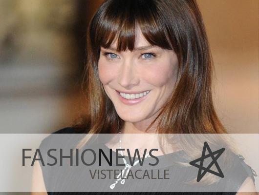 Fashion News: El regreso de Carla Bruni, Saskia de Brauw protagoniza campaña masculina de Saint Laurent y Rei Kawakubo para Hermès