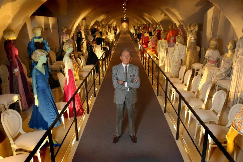 50 años de Valentino en una exhibición