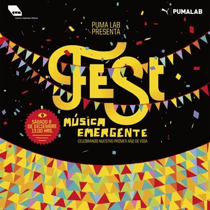 ¡PUMA LAB celebra 1° aniversario con Fest Música Emergente!