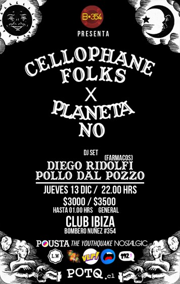¡Concurso Express: Fiesta de Cellophane Folks y Planeta No!