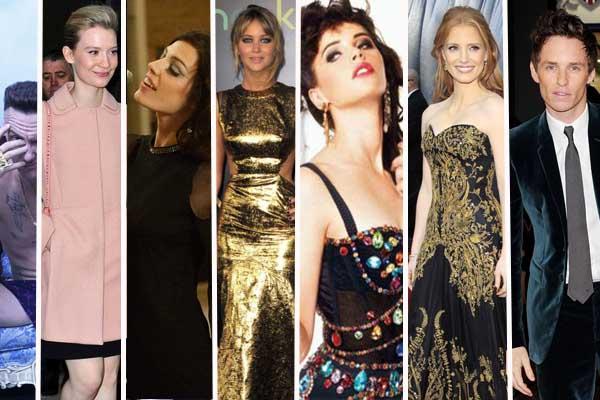 Los estilos de los famosos que conocimos el 2012