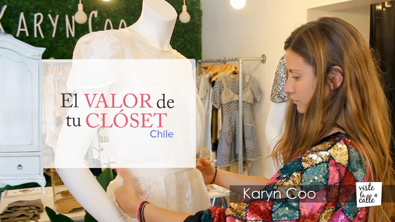 El Valor de Tu Clóset Chile: Karyn Coo