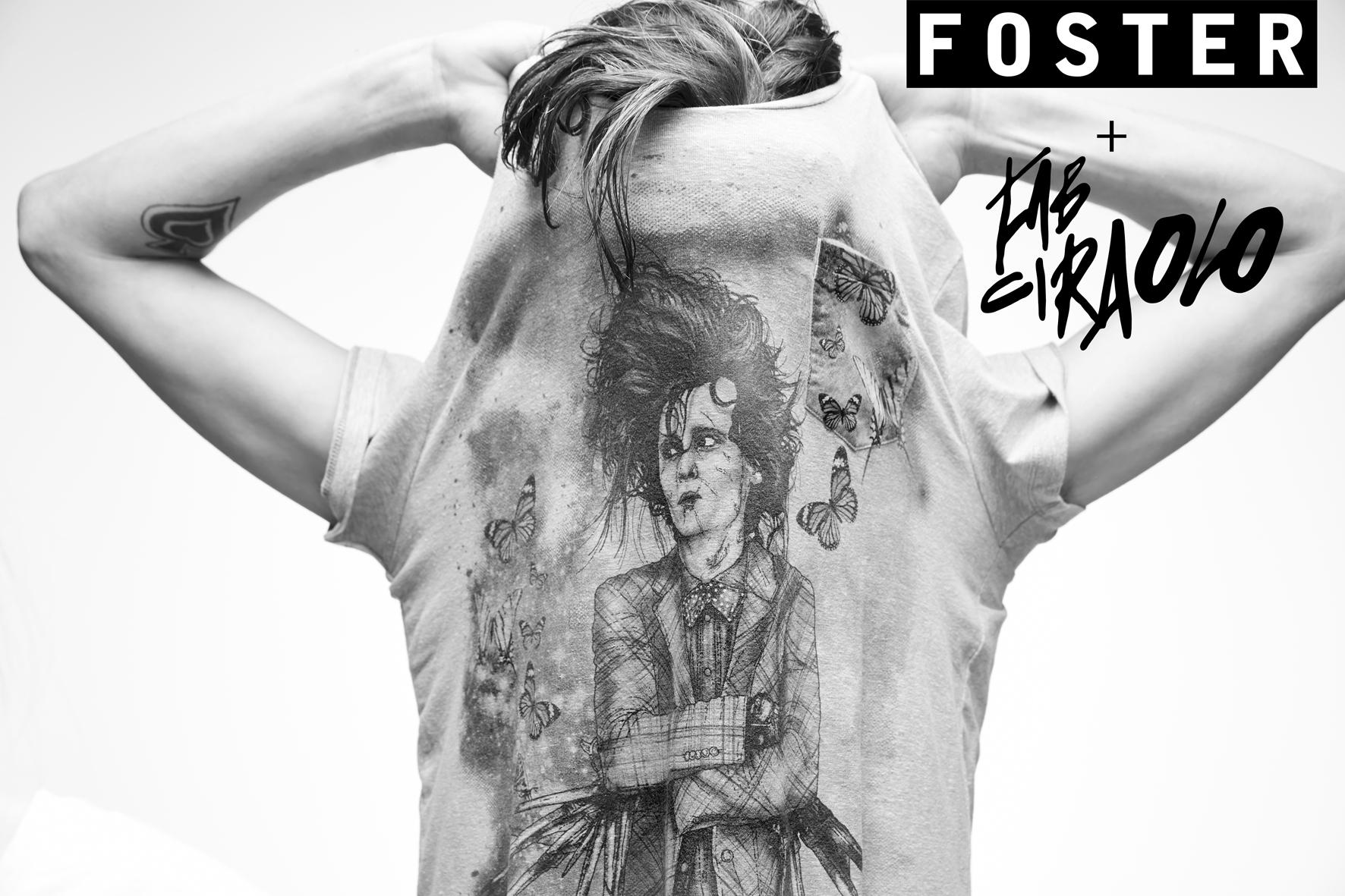 Foster se une al ilustrador nacional Fab Ciraolo