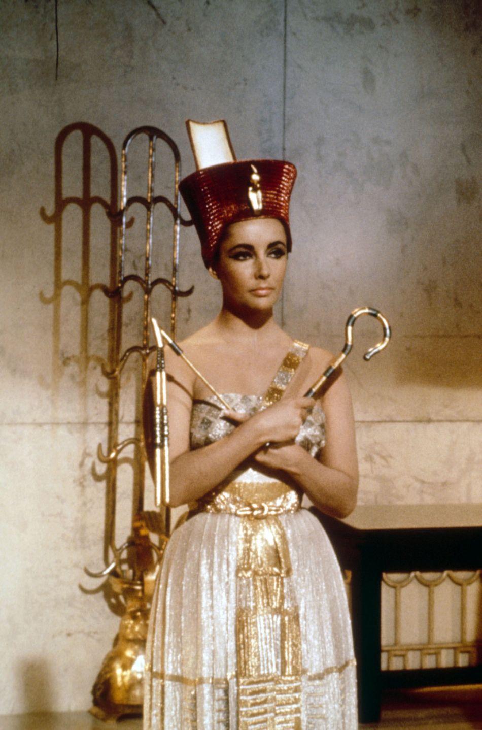 Flashback: Elizabeth Taylor como Cleopatra, 1963