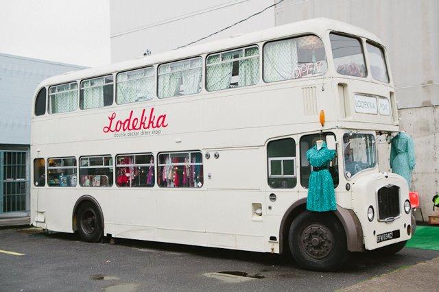 Lodekka, una tienda de ropa vintage en bus