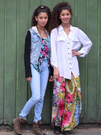 Martina y Antonia Massry