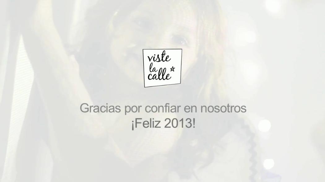 ¡VisteLaCalle y RevisteLaCalle despiden el 2012 y dan la bienvenida al año 2013!