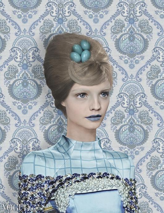 Mary Katrantzou por Garjan Atwood