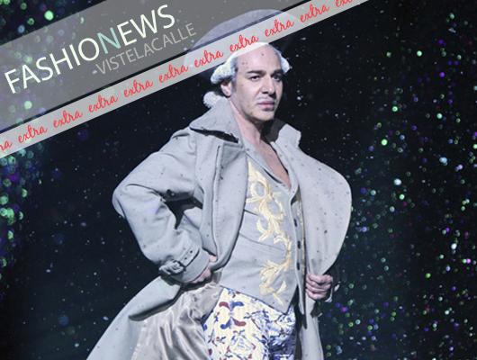 Fashion News: John Galliano vuelve al mundo de la moda acogido por Oscar de la Renta