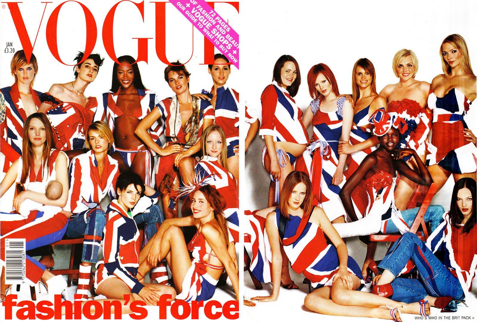 Las portadas grupales de Vogue