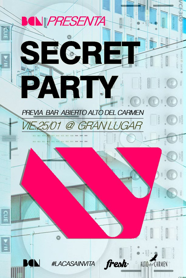 Concurso Express: Gana entradas para la Secret Party
