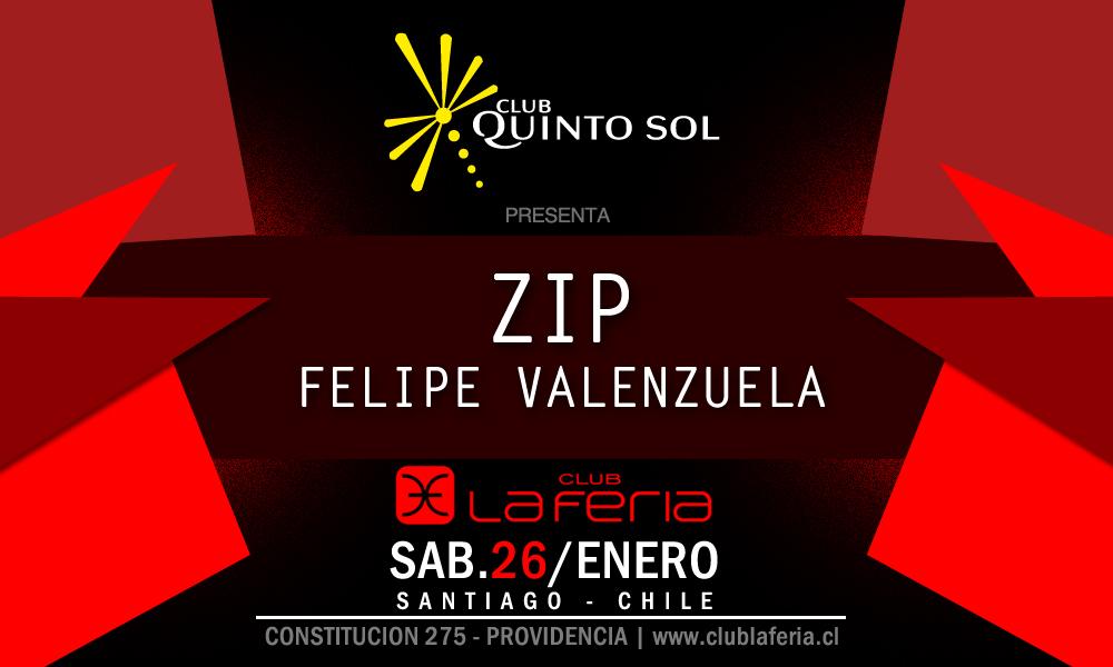 Concurso Express: Participa por una entrada doble para Dj Zip en La Feria