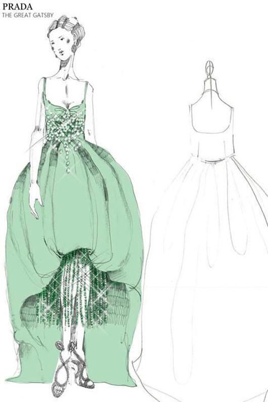 """Salen a la luz los diseños de Muccia Prada para """"The Great Gatsby"""""""