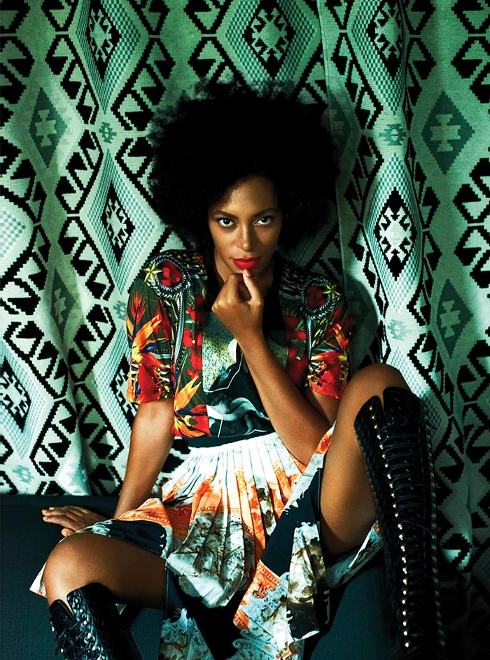 El estilo de Solange Knowles