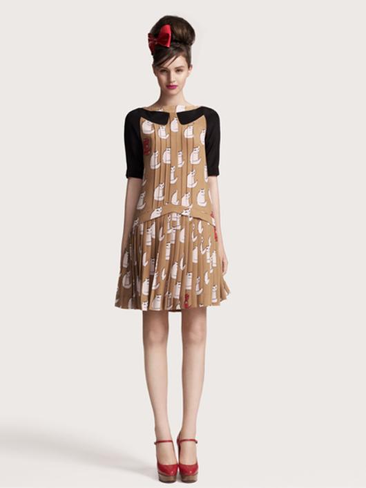 Los vestidos de Victoria Beckham
