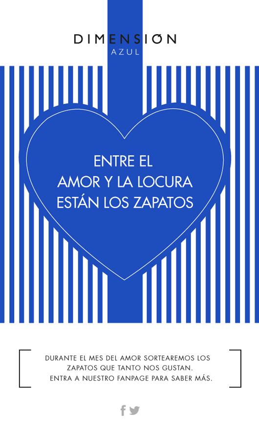 Concurso Dimensión Azul: En el mes del amor, enamórate de los zapatos