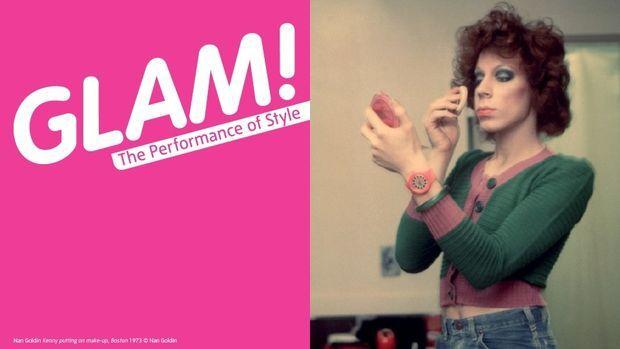 """La exhibición """"Glam! The performance of style"""" en Inglaterra"""