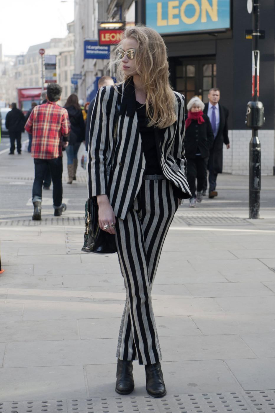 El street style de las modelos en las semanas de la moda F/W 2013-2014