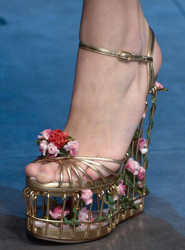 Los zapatos de las Semanas de la Moda otoño-invierno 2013/14