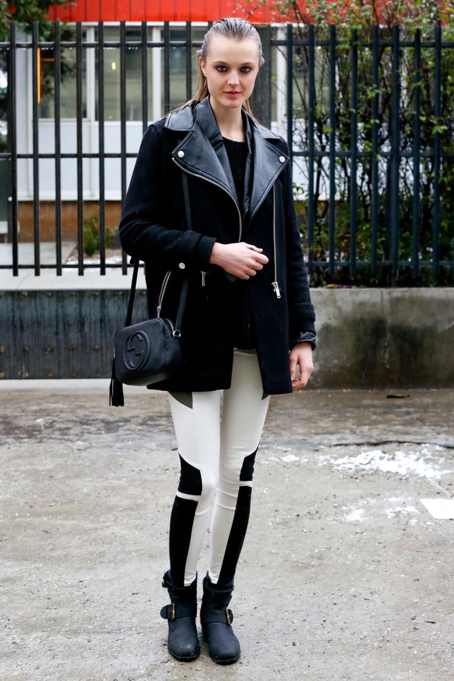 Lieve Dannau en las semanas de la moda F/W 2013 – 2014