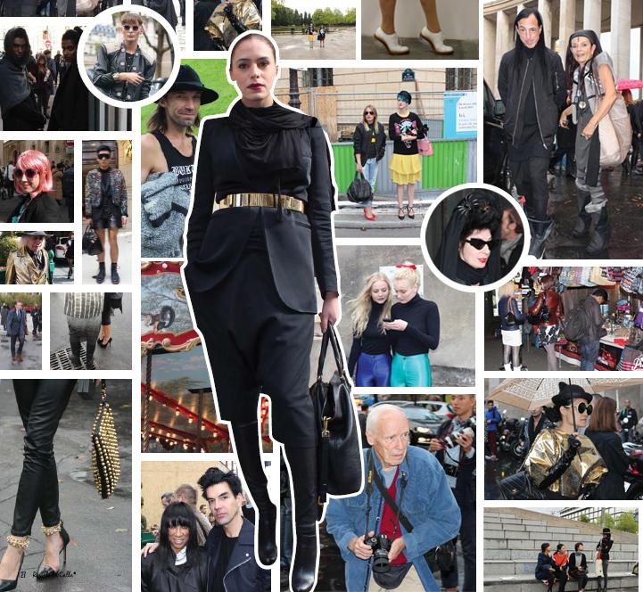 Ciudades y Fashion Weeks: VisteLaCalle en París y Milán