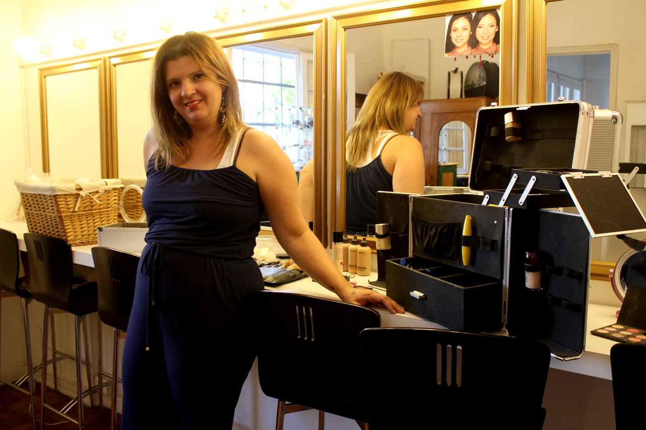 Entrevista a la maquilladora Cândida Medeiros
