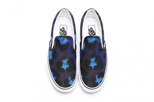 Las zapatillas Vans x Kenzo S/S 2013-2014