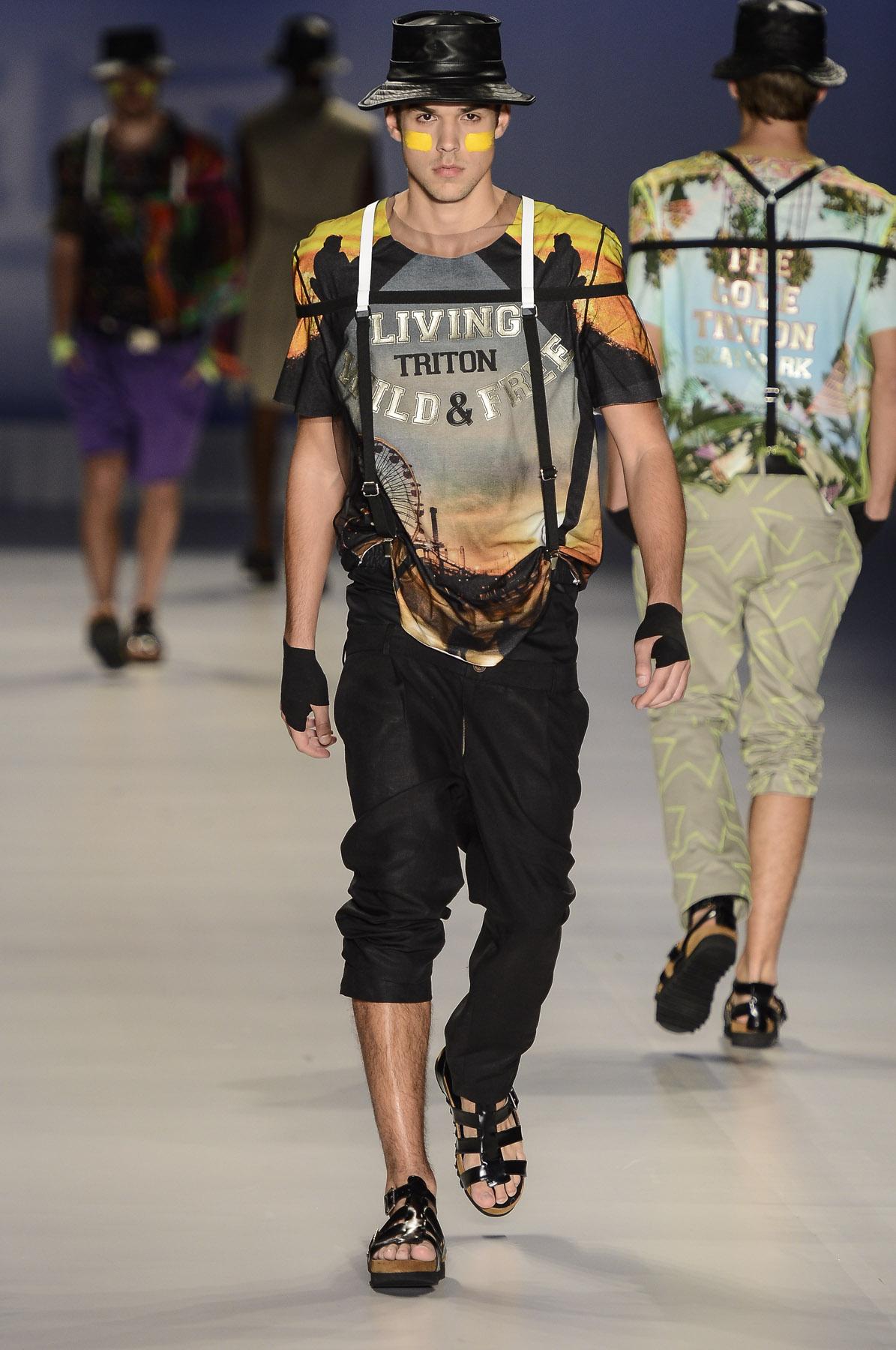 Sao Paulo Fashion Week S/S 2014: Triton