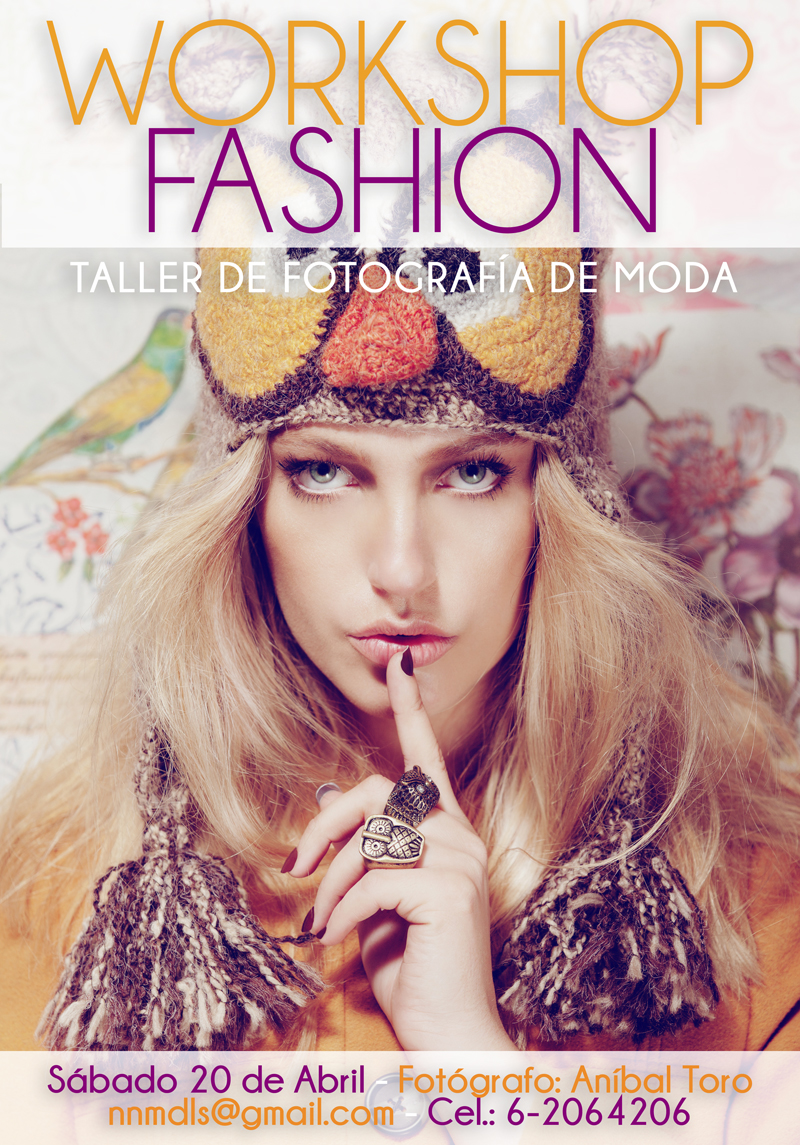 "Regalamos 1 cupo para ""Workshop Fashion Editorial"""
