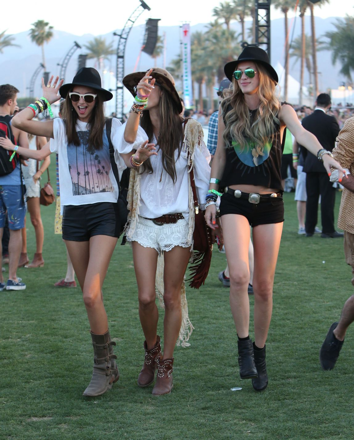 El street style en el festival Coachella 2013, parte I