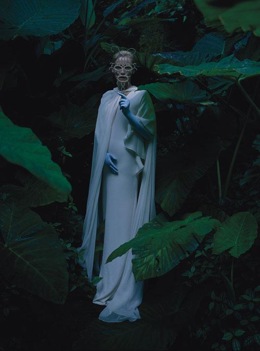 """Tilda Swinton en """"Stranger than Paradise"""" para W Magazine"""