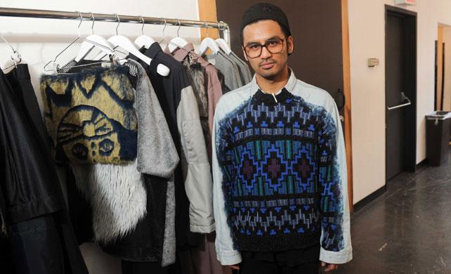 Shaun Samson, el nuevo diseñador masculino de la escena