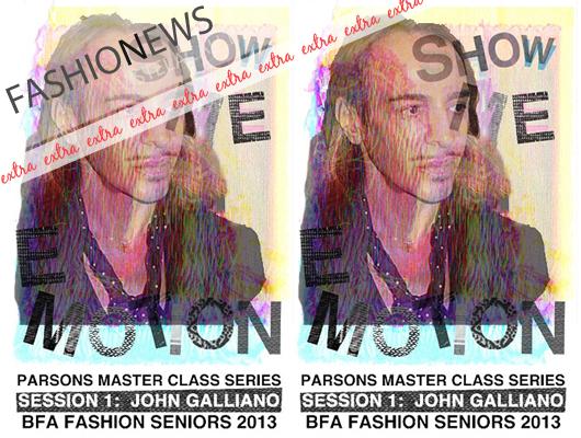 Fashion News: John Galliano impartirá sus conocimientos en la escuela de moda Parsons de Nueva York