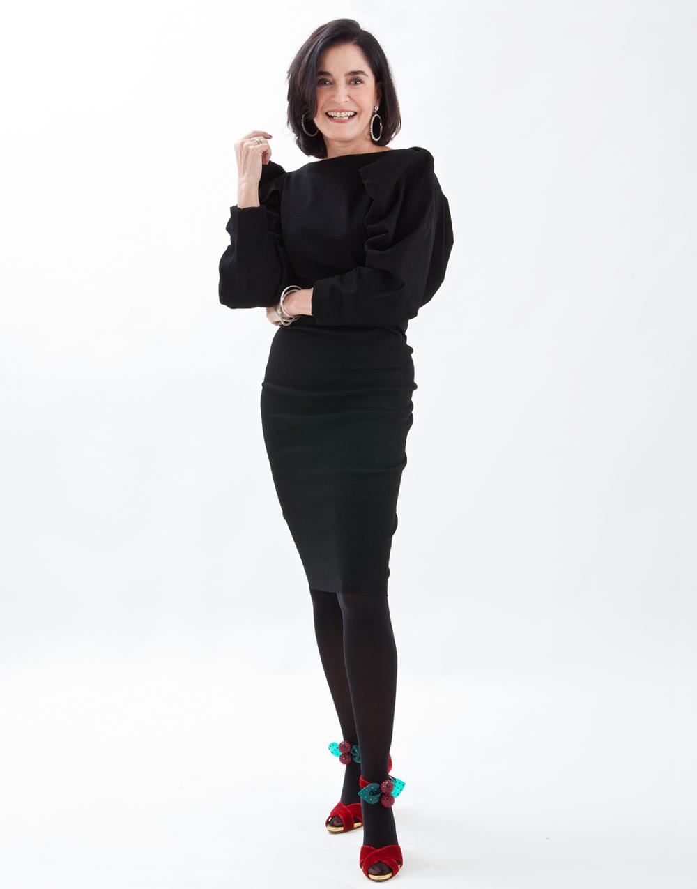 """Gloria Kalil, experta en moda brasileña: """"Pocas periodistas que trabajan en moda saben distinguir una tela de otra"""""""