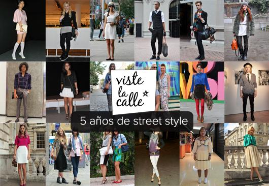 5 años de street style en VisteLaCalle: Los looks internacionales más populares