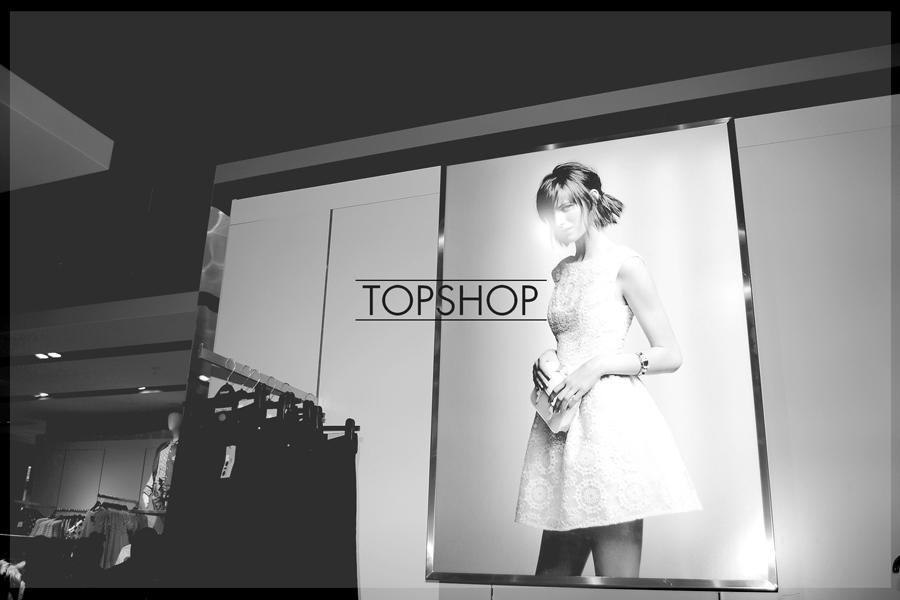 Lanzamiento de tienda Topshop en Parque Arauco