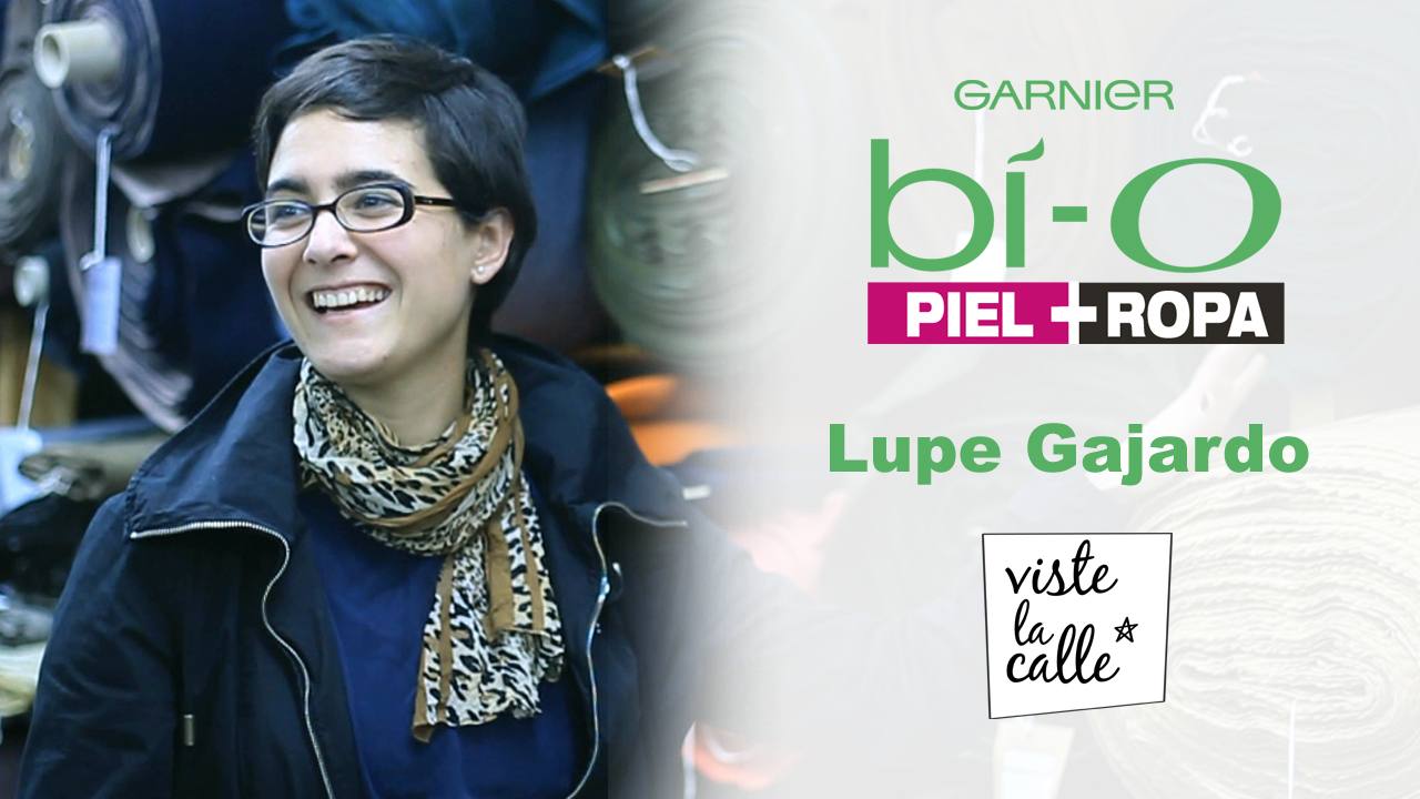 Garnier Bio Piel + Ropa: Lupe Gajardo