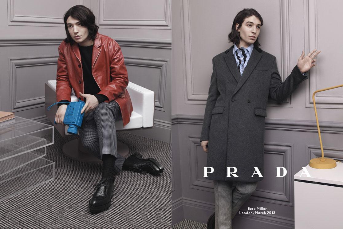 Prada Menswear F/W 2013: Bajo la influencia de la Nouvelle Vague