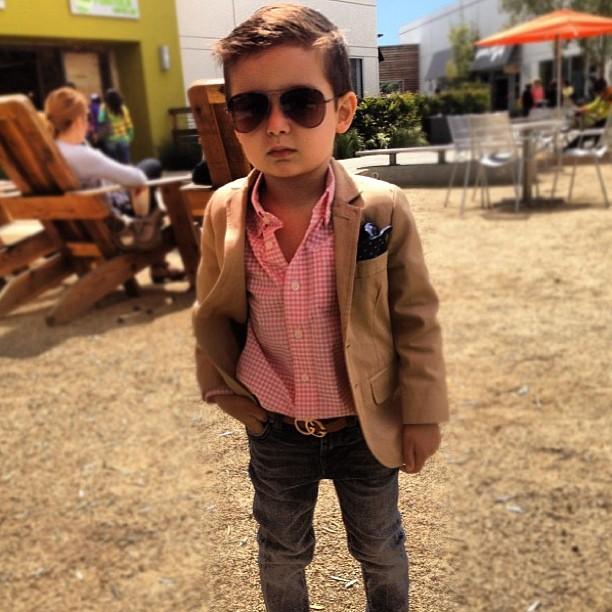 Alonso Mateo, la nueva sensación infantil en Instagram
