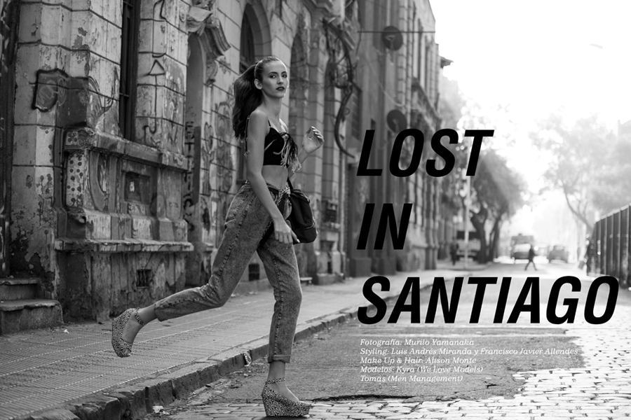 "Editoriales Viste La Calle: ""Lost in Santiago"""