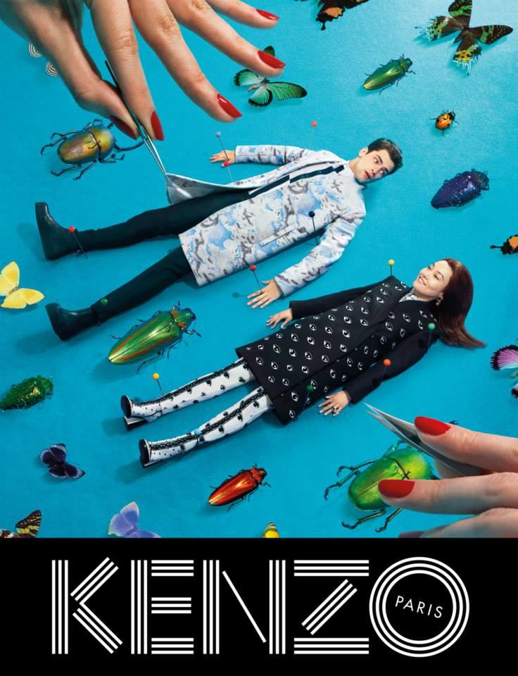 Kenzo + ToiletPaper = campaña surrealista