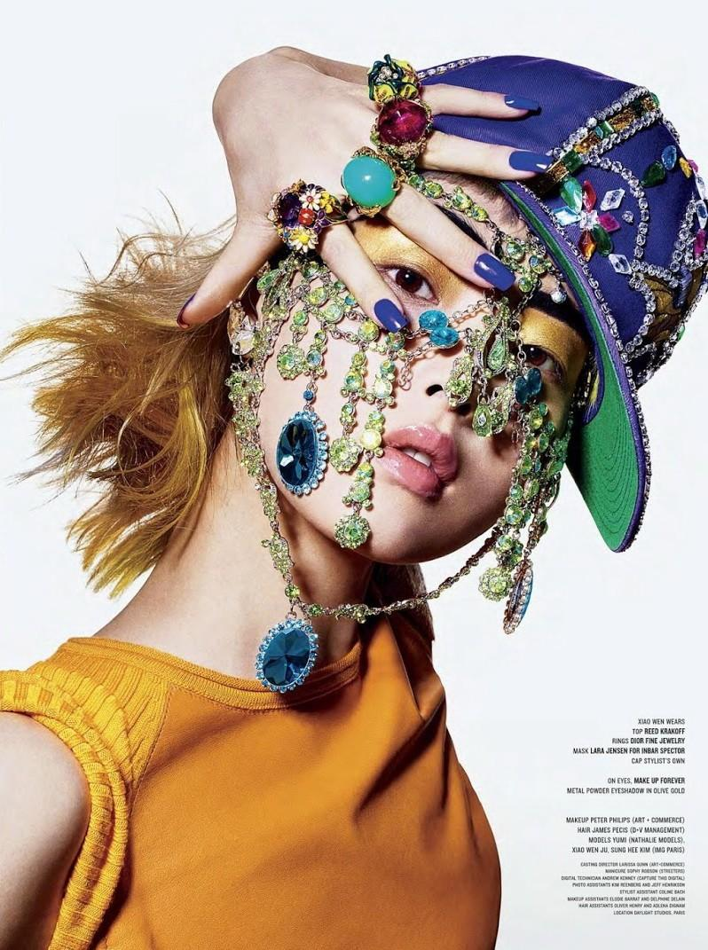 The Beauty and the Bling, estilo Harajuku en una editorial