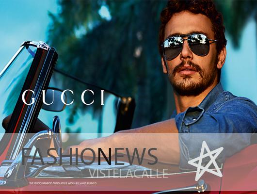 Fashion News: James Franco es la nueva cara de Gucci, la liquidación de invierno Retrovisión y curso de maquillaje en MilM2
