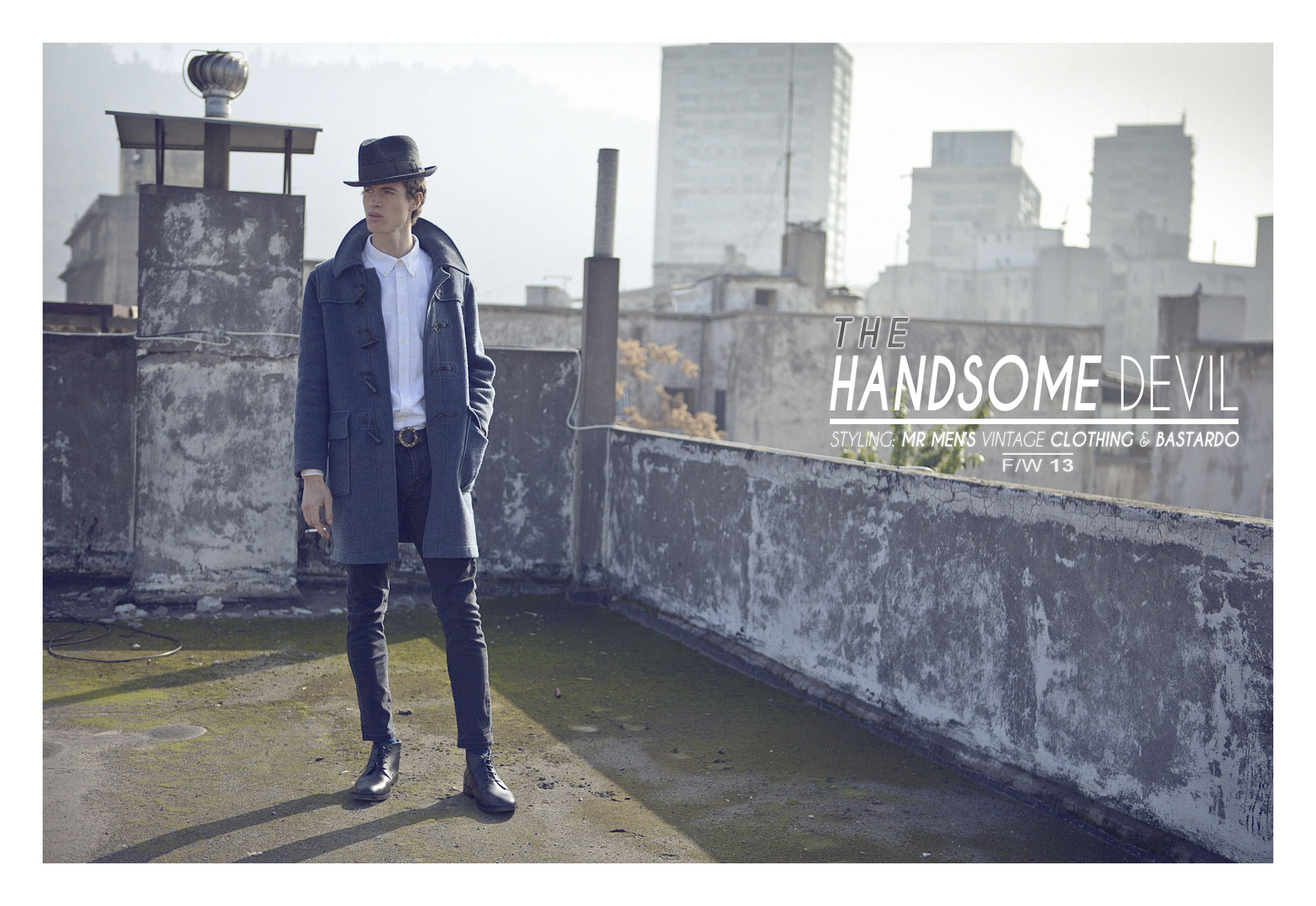 Bastardo y Mr. lanzan lookbook FW2013: The Handsome Devil