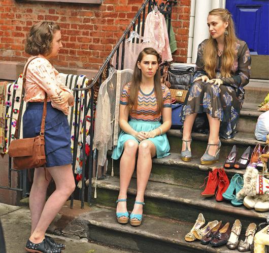 La anti-moda en Girls: una estrategia para el realismo