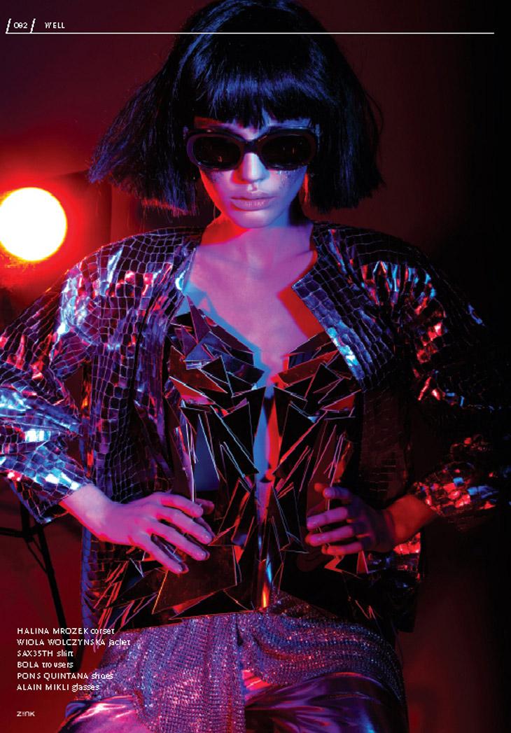 Nicole G por Krzysztof Wyzynski para Zink Magazine 2013
