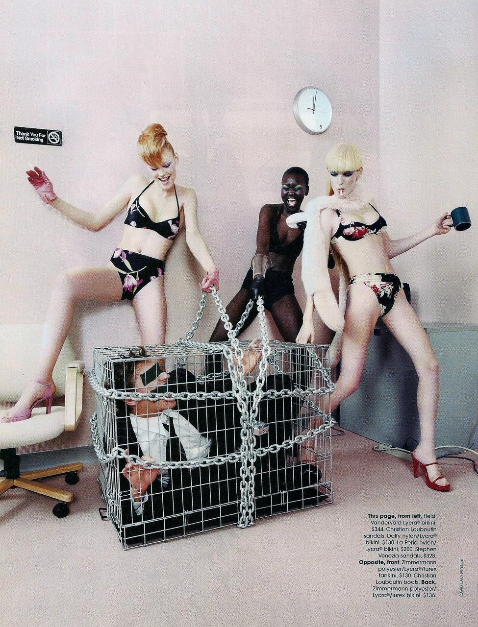 Flashback: David LaChapelle para Vogue Australia, 1998