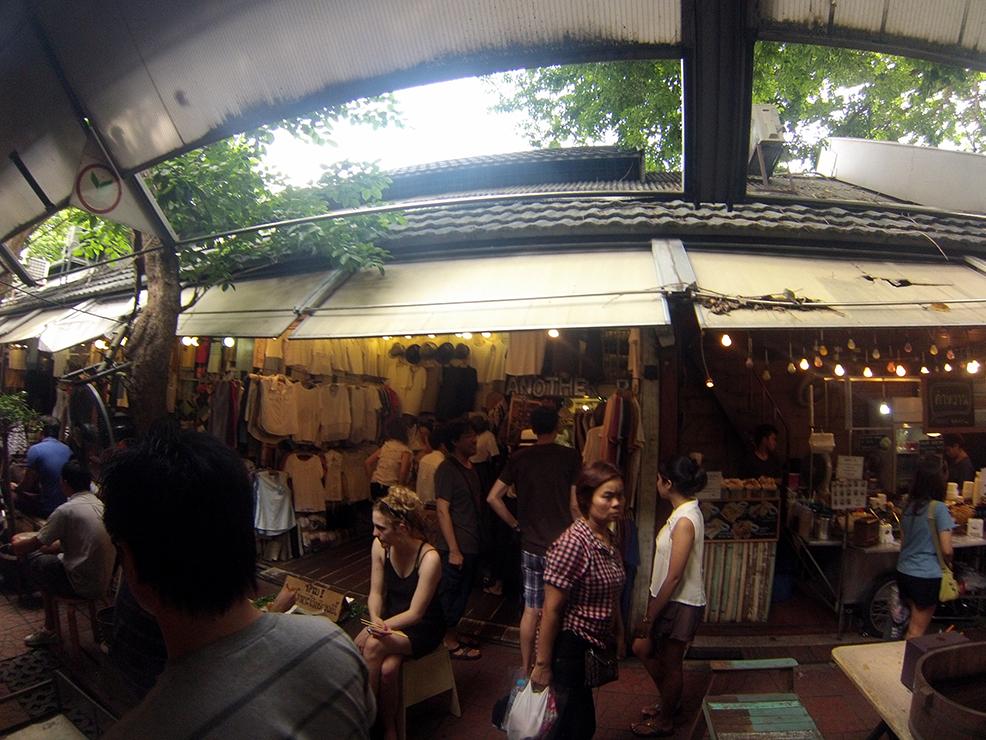 Chatuchak Market en Bangkok