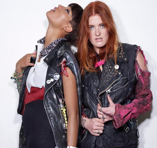 El estilo del dúo escandinavo Icona Pop